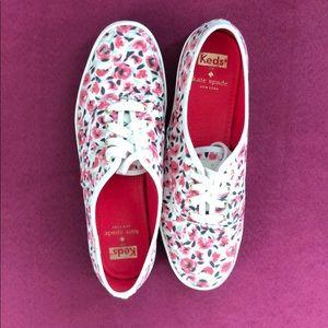 ✨ kate spade x keds floral print sneakers